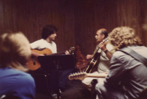 guitar lesson with Marcelo Berestovoy and Joe Pass
